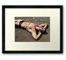 Paradise Belongs To You Framed Print
