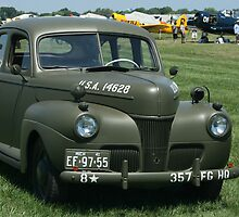 WWII Staff Car by eaglewatcher4