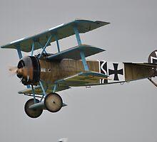 Fokker eindecker by imageworld