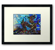 ONE DRAGON AT A TIME Framed Print