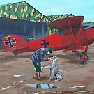 Moritz and Richthofen by Gene Ritchhart