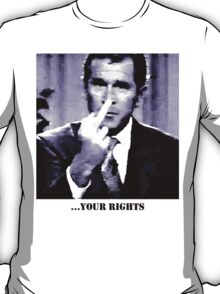 George W. Bush gives the finger T-Shirt