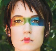 Rainbow Beauty by Alisa Saxanoff