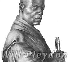 Mace Windu by Will Pleydon