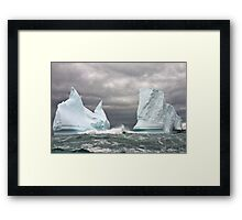 On Dangerous Seas Framed Print