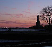 Leaving Ellis Island by MissCozza