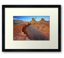 Destructive Forces of Creation Framed Print