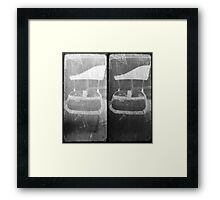 """Both of you, sit down and shut up."" Framed Print"