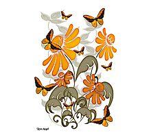 Natures Orange Photographic Print