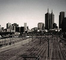 Melbourne by Carsten  Ottesen