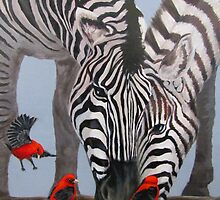 Animal Friends - Paintings by Karen Ilari by Karen Ilari