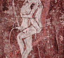 Minotaur and Ariadne by Ina Mar