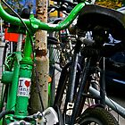 Bicycles of Hamburg No 8 by Maike