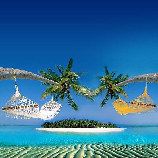 Beach hammocks  by Nasko .