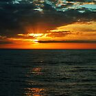 North Atlantic Sunset by WatscapePhoto