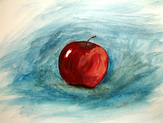 La Pomme by pinetreeart