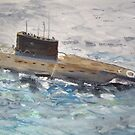 Submarine by Carole Robins