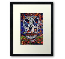 Untitled skull Framed Print