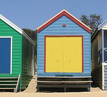 Beach Huts of the Mornington Peninsula by Doug Miller