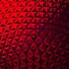 Red Geometry by John Dalkin