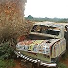 Old Car at Silverton near Broken Hill by Juilee  Pryor