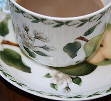 The perfect pear cup, Bexley winter morning. by ladieslounge