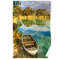 Reflections at Nuriootpa, Barossa Valley Poster