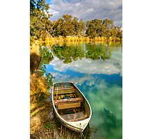 Reflections at Nuriootpa, Barossa Valley Photographic Print