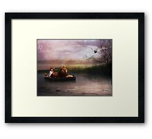 """Hush Little Baby , Don't You Cry"", (The Imaginary Kingdom Series)) Framed Print"