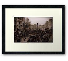 Oxford Bikes Framed Print