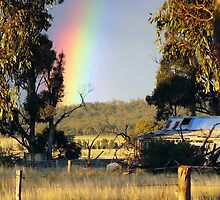 Rainbow country by Julie Sleeman