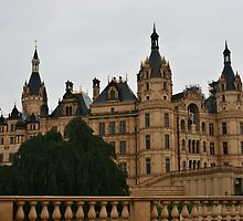 Schwerin castle by Dirk Pagel
