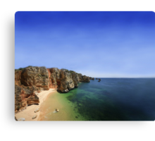 Summer Time Postcard  Canvas Print