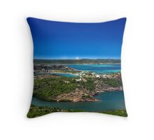 Post Card from Mauritius Throw Pillow