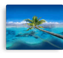 Post Card from Micronesia   Canvas Print
