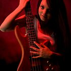 Da Bass in the Hands of da Devil (cheeky!) by Mark Elshout