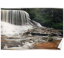 Weeping Rock - Wentworth Falls, New South Wales Poster
