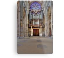 Church of St. Ouen - The Aristide Cavaillé Coll Organ Metal Print