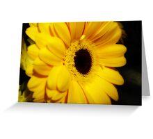 Yellow Gerbera ~ The Orton Effect ~ Greeting Card