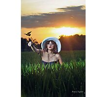 One Day I'll Fly Away Photographic Print