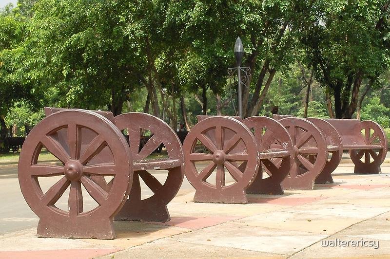 Quezon Memorial Circle benches 29 by walterericsy