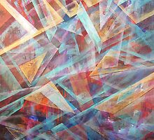 Hallucinogetic Paths by ARTforcancer