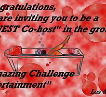 Invite for Guest hosting in ACE by Ann Warrenton