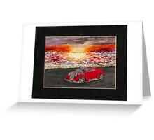 Sunset Cruiser Greeting Card