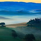 Val d'Orcia Blues by Inge Johnsson