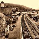 Carrog Railway Station by saxonfenken