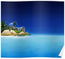 Exotic Holiday Destination  Poster