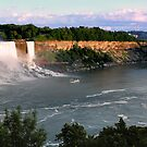 Niagra Falls by Di Harrison