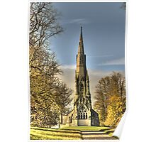 St Mary's Church - Studley Royal Poster