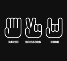 Paper Scissors ROCK by Stuart Stolzenberg